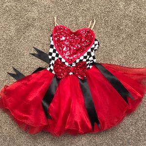 Dresses & Skirts - Queen of Hearts Halloween Recital dress